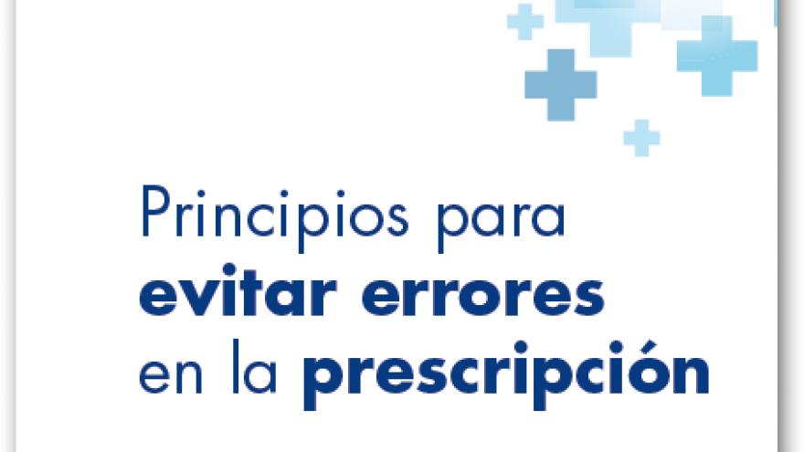 portada documento evitar errores en la prescripción