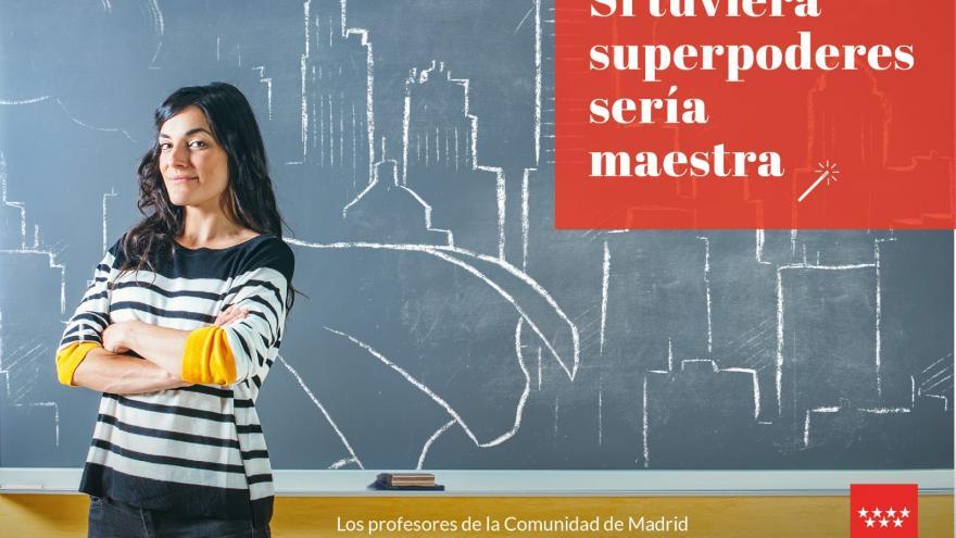 Campaña  'Si tuviera superpoderes sería maestro'
