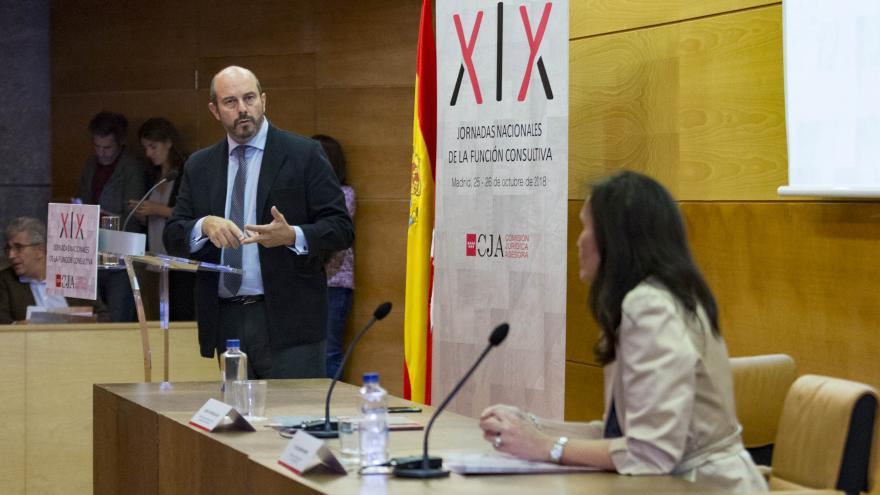 El vicepresidente regional, Pedro Rollán, clausura las XIX Jornadas Nacionales de la Función Consultiva