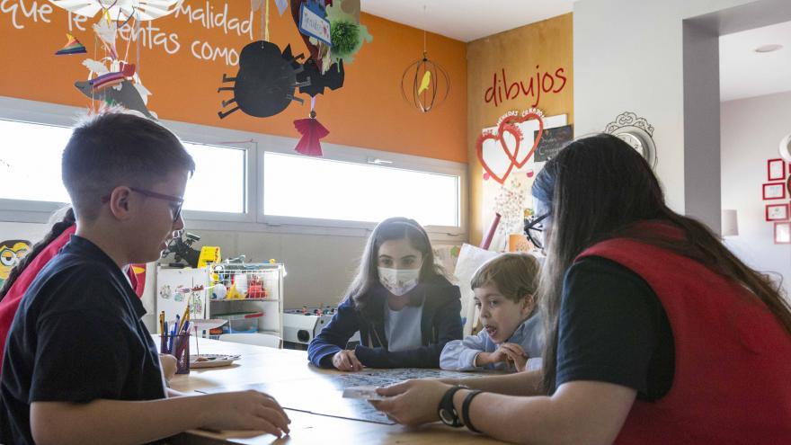 Niños en el Hospital Gregorio Marañón