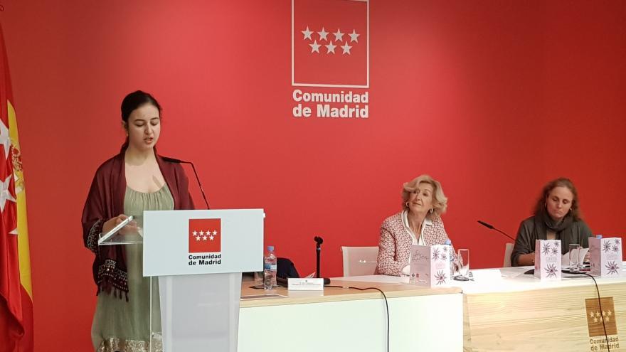 La directora general de Patrimonio Cultural ha entregado hoy el XIII Premio Internacional de Cuentos escritos por personas con discapacidad