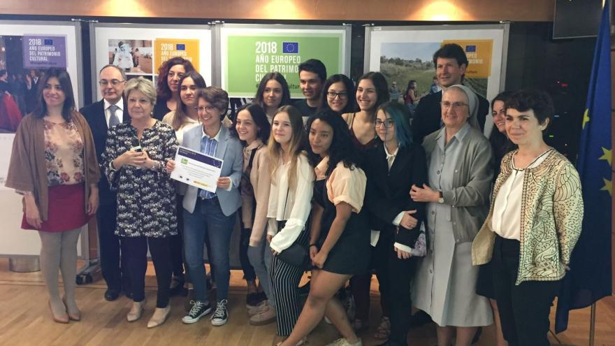 Ganadores Euroscola 2018 Comunidad de Madrid