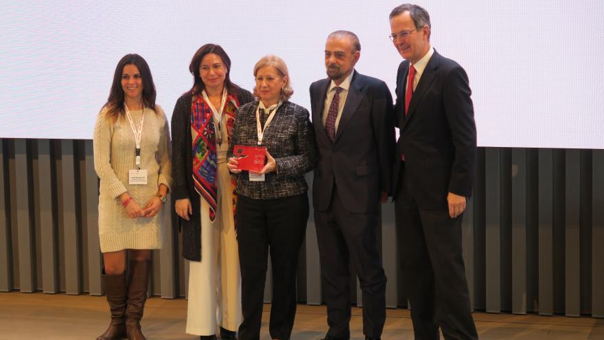 Belén Prado participa en la entrega de Premios al Valor Social 2017 de la Fundación CEPSA