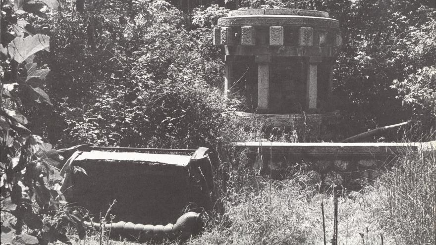 Abandono patio central