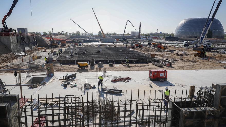 Construcción del nuevo Hospital de Emergencias de la Comunidad
