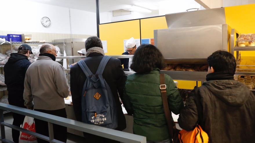 Comedor social de la calle Canarias