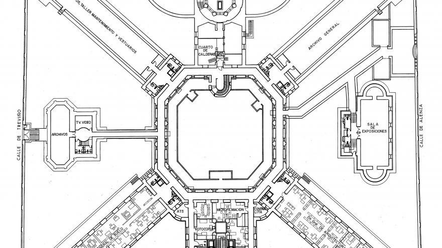 Imagen plano actual Maudes planta baja