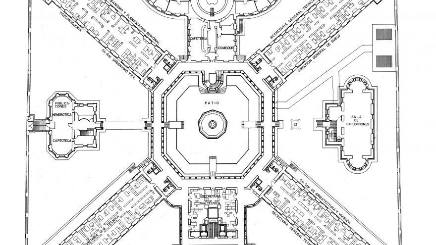 Imagen plano actual Maudes planta primera