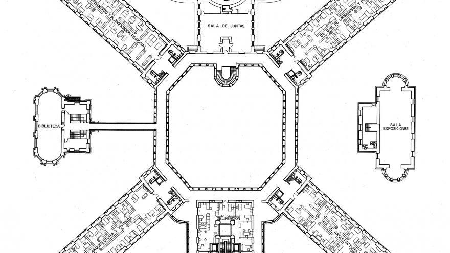 Imagen plano actual Maudes planta segunda