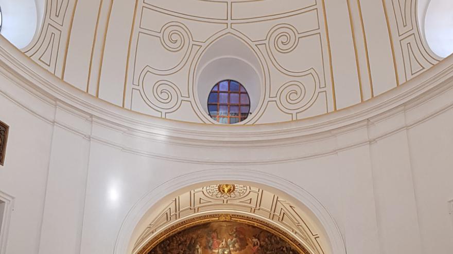 Cubierta de la iglesia de Santa María la Mayor
