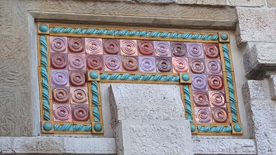 Imagen de cerámica exterior