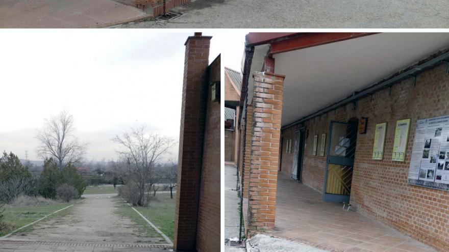 Accesos adaptados a edificios principales del Centro de educación ambiental Caserio de Henares