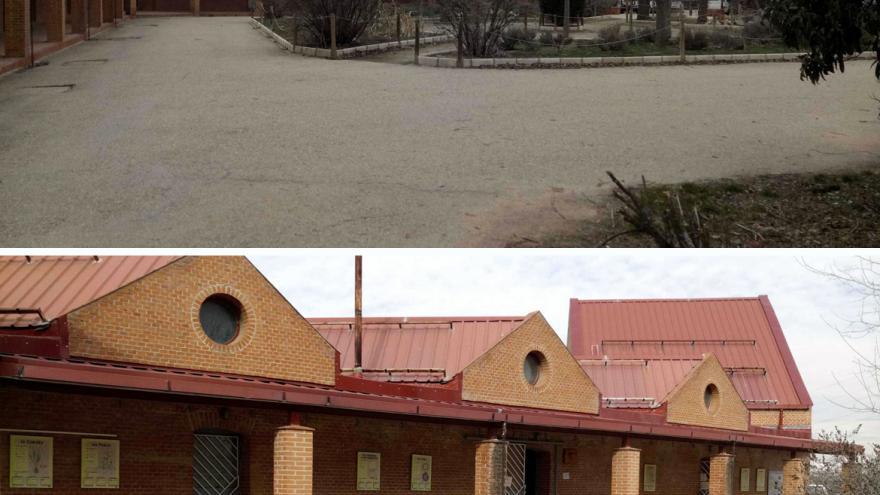 Edificios principales del Centro de educación ambiental Caserio de Henares