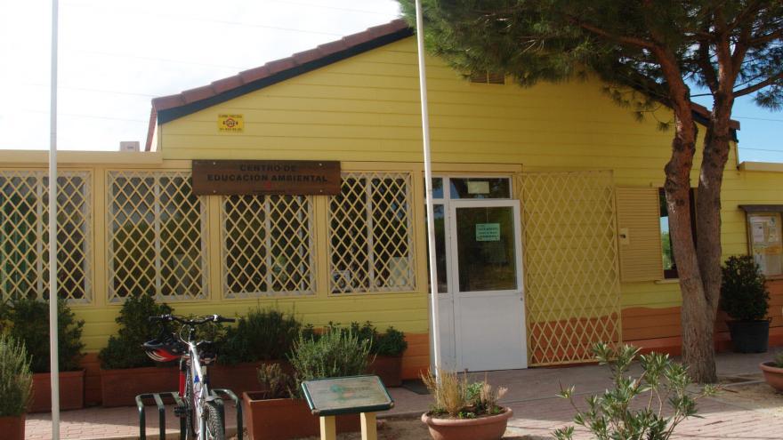 Edificio del Centro de Educación ambiental Polvoranca