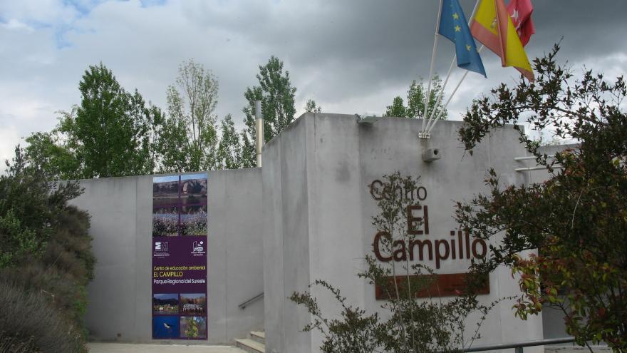 Entrada del Centro de educación ambiental El Campillo