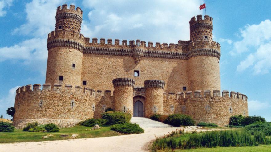 Parque Regional de la cuenca alta del Manzanares. Castillo de Manzanares El Real