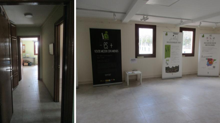 Sala de exposiciones y aula multiusos del Centro de educación ambiental Polvoranca