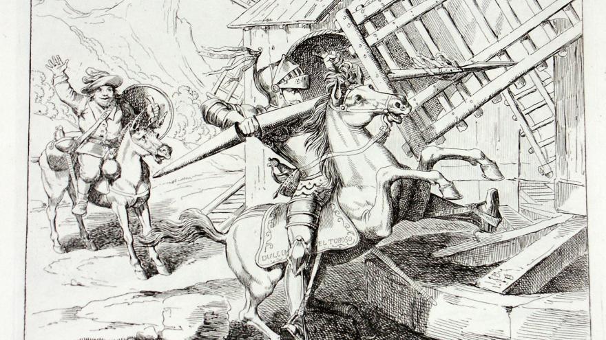Dibujo Don Quijote de la Mancha