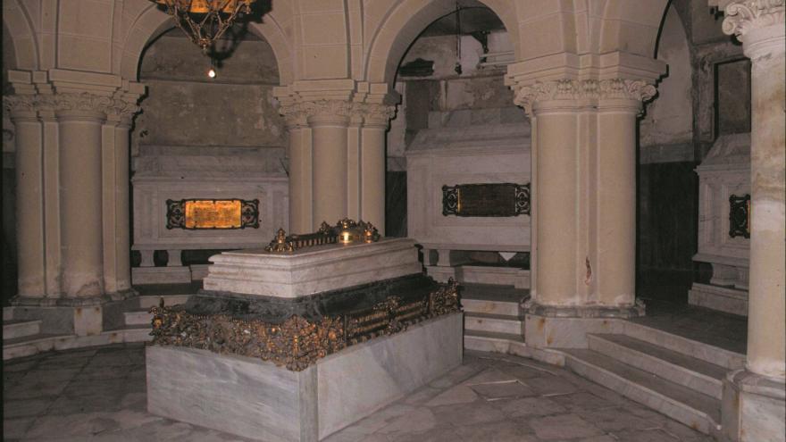 Imagen de la cripta