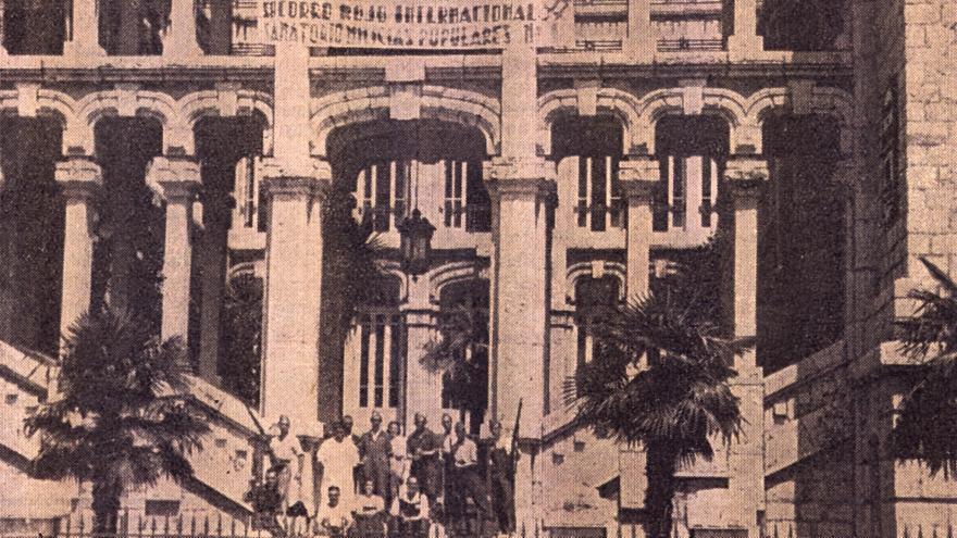 Imagen fachada principal de Maudes