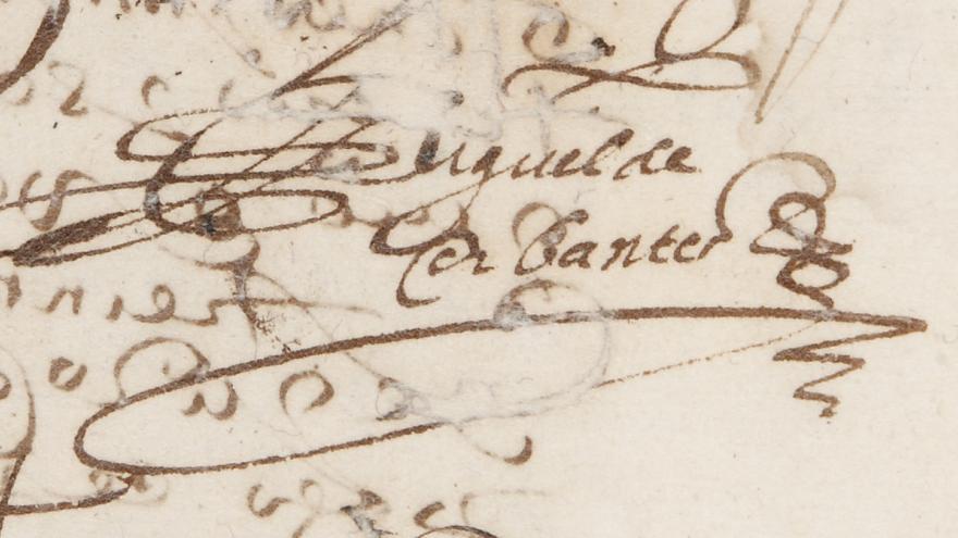 Firma Cervantes