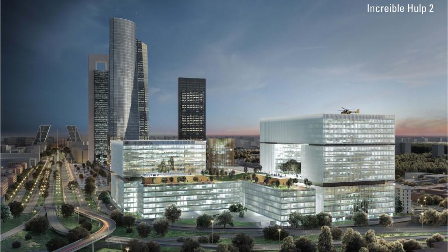 Proyecto de diseño del nuevo Hospital La Paz