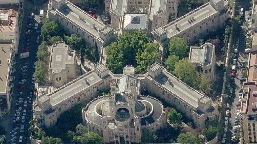 Imagen aérea de Maudes