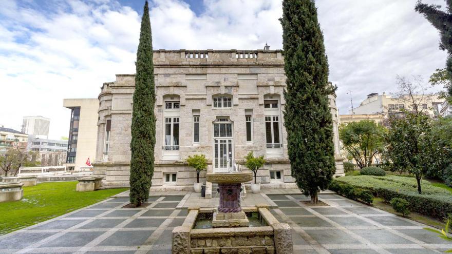 Imagen del pabellón Antonio Palacios