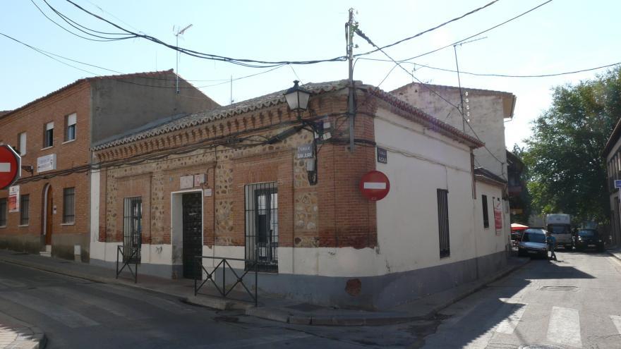 Imagen del exterior de la Casa de la Juventud antes de la reforma