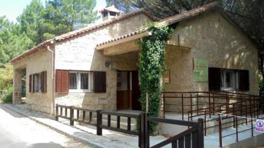 Centro de Visitantes La Pedriza. Punto de información