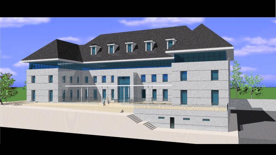 Proyecto de nueva sede judicial de El Escorial