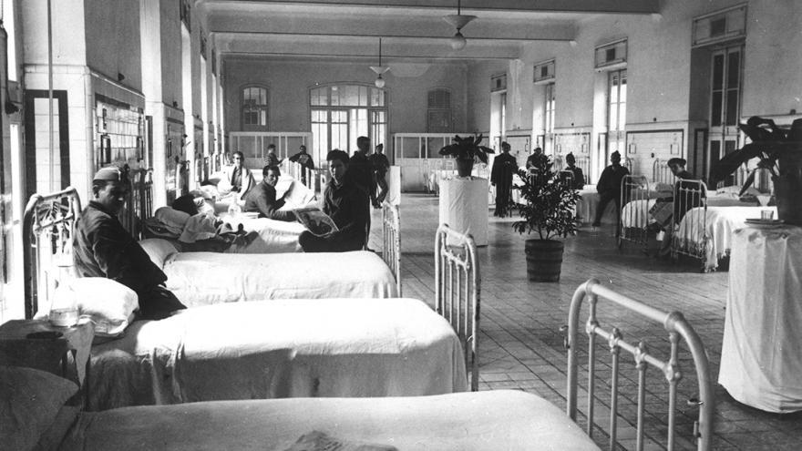 Imagen de sala de enfermos