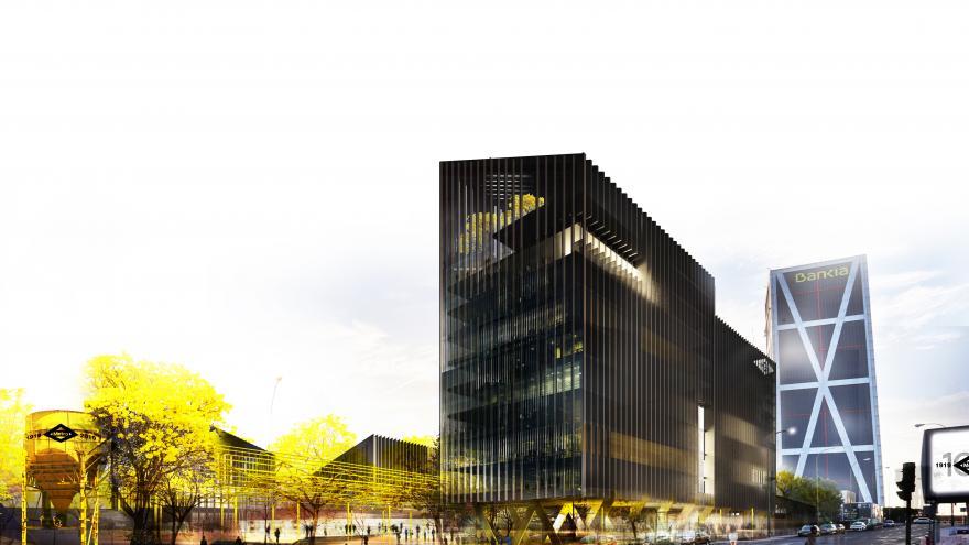 Imágenes del proyecto de la nueva sede de Metro de Madrid denominado Centro Tecnológico Administrativo
