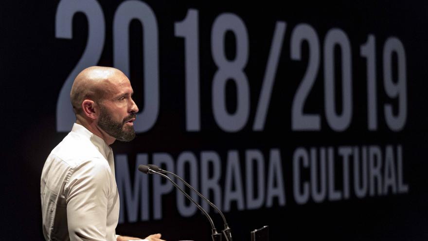 El consejero de Cultura, Turismo y Deportes, Jaime de los Santos, presenta la programación de la nueva temporada cultural de la Comunidad