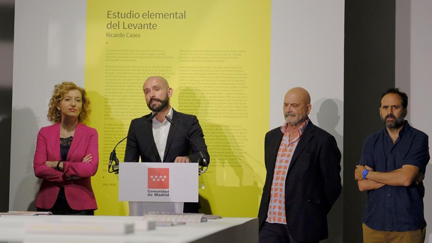 Jaime de los Santos, consejero de Cultura, Turismo y Deportes, ha presentado hoy la exposición, que podrá verse hasta el 29 de julioº
