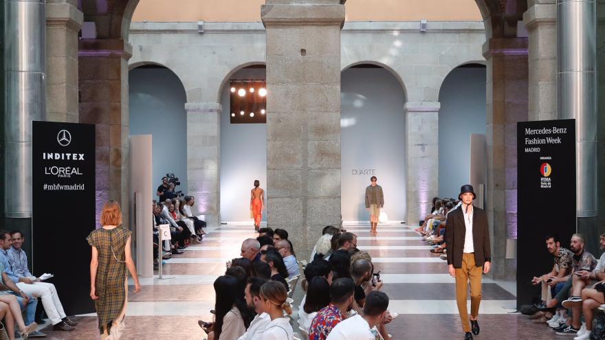 Esta es la tercera vez que la sede del Gobierno de la Comunidad acoge este gran evento de la moda