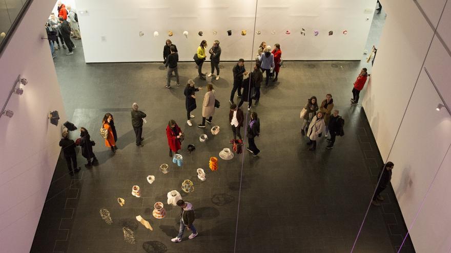 Una sala de la exposición Ana Laura Alaez