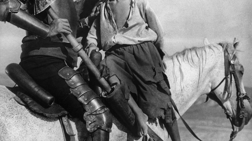 Cervantes En la cinta del tiempo Don Kikhot de Grigori Kozintsev 1957