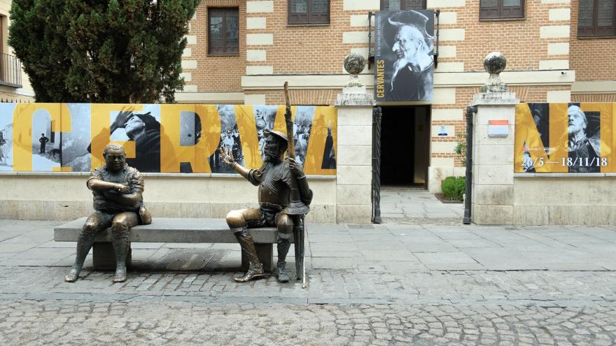 Exposición Cervantes en la cinta del tiempo. Museo Casa Natal Cervantes