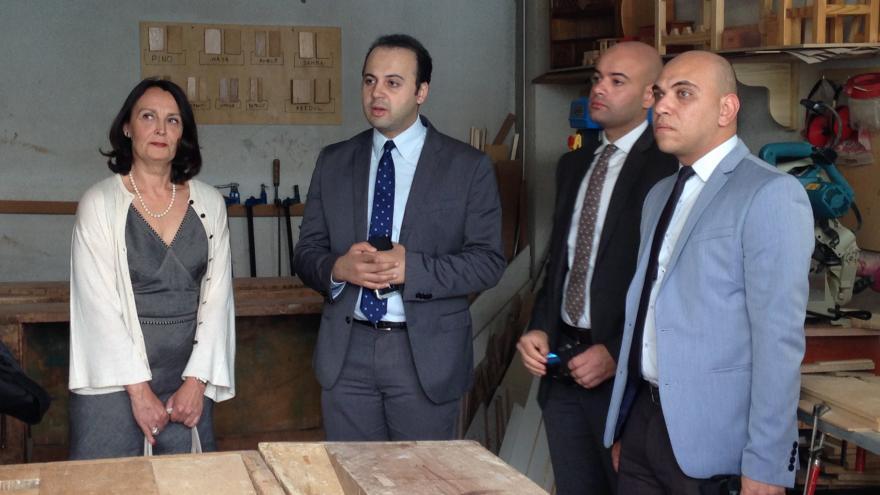 La Comunidad de Madrid comparte su modelo de reeducación y reinserción de menores con la Fiscalía de Egipto