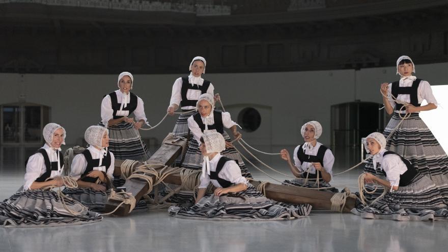 Escena del espectáculo La Veronal