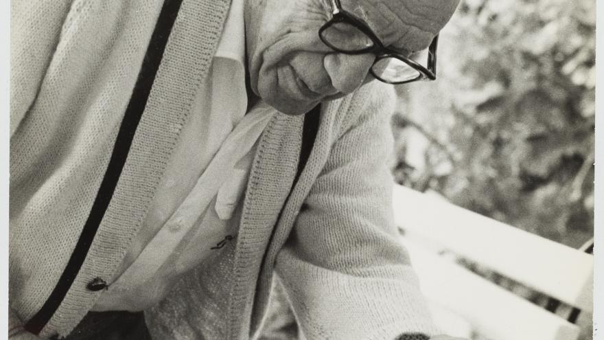 Picasso en Notre Dame de Vie 1968