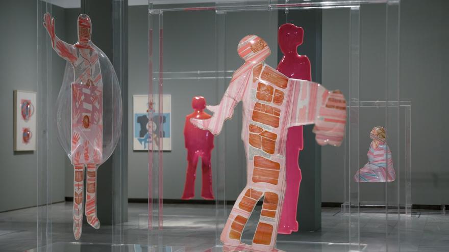 Imagen de la exposición de Dario Villalba