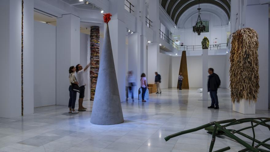 una sala de la exposición