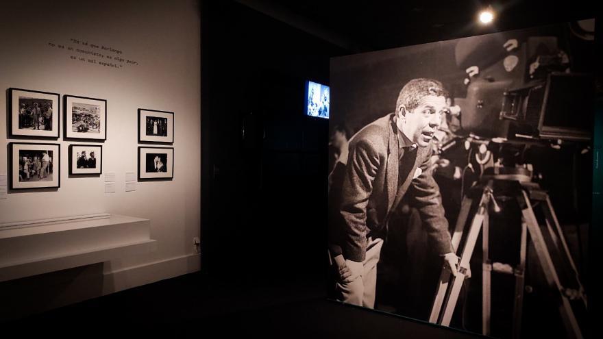 Fotografía de una sala de la exposición