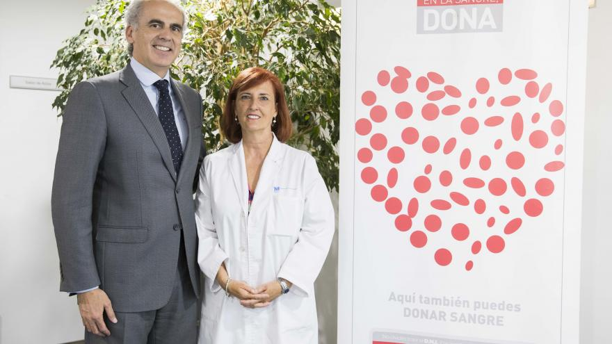 Ruiz Escudero, consejero de Sanidad, ha participado en el acto del 30 aniversario del Centro de Transfusión de la Comunidad de Madrid