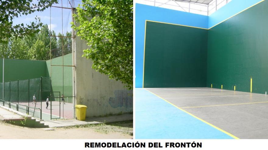 ANTES-DESPUÉS DEL FRONTÓN