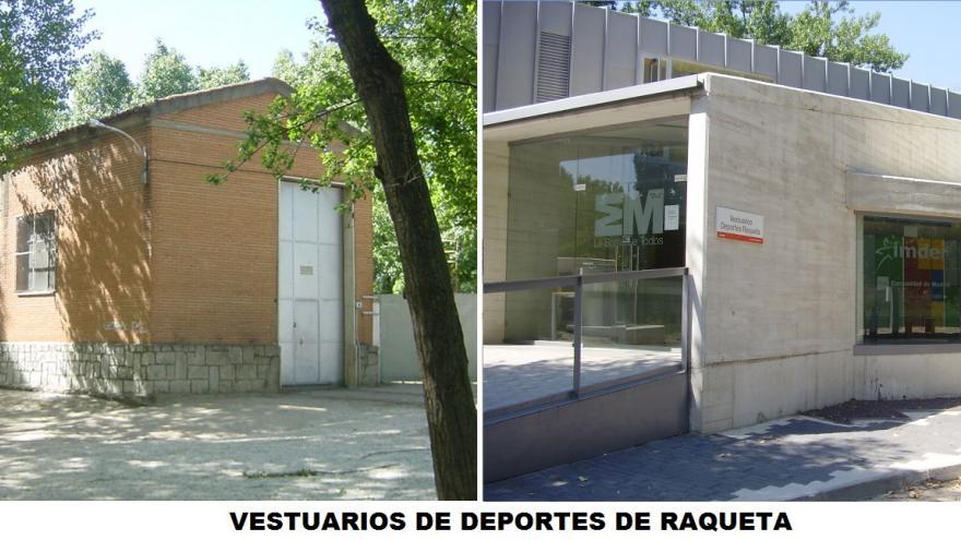 ANTES-DESPUÉS DE LOS VESTUARIOS