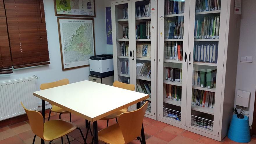 Biblioteca Centro Visitantes Fuenfría