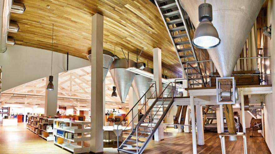Biblioteca regional de la Comunidad de Madrid
